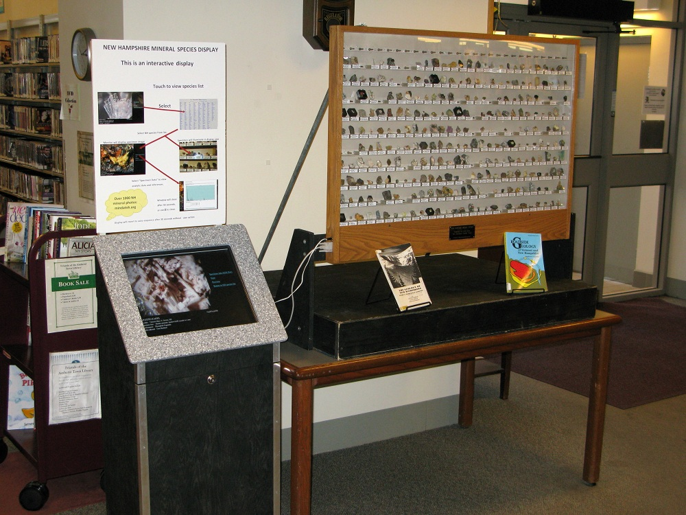 Amherst Library Display