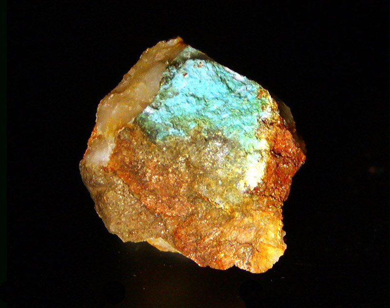 Aurichalcite photo
